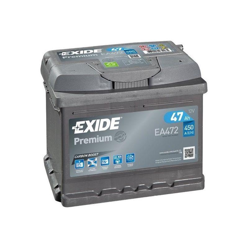 Batteria Exide Premium EA472