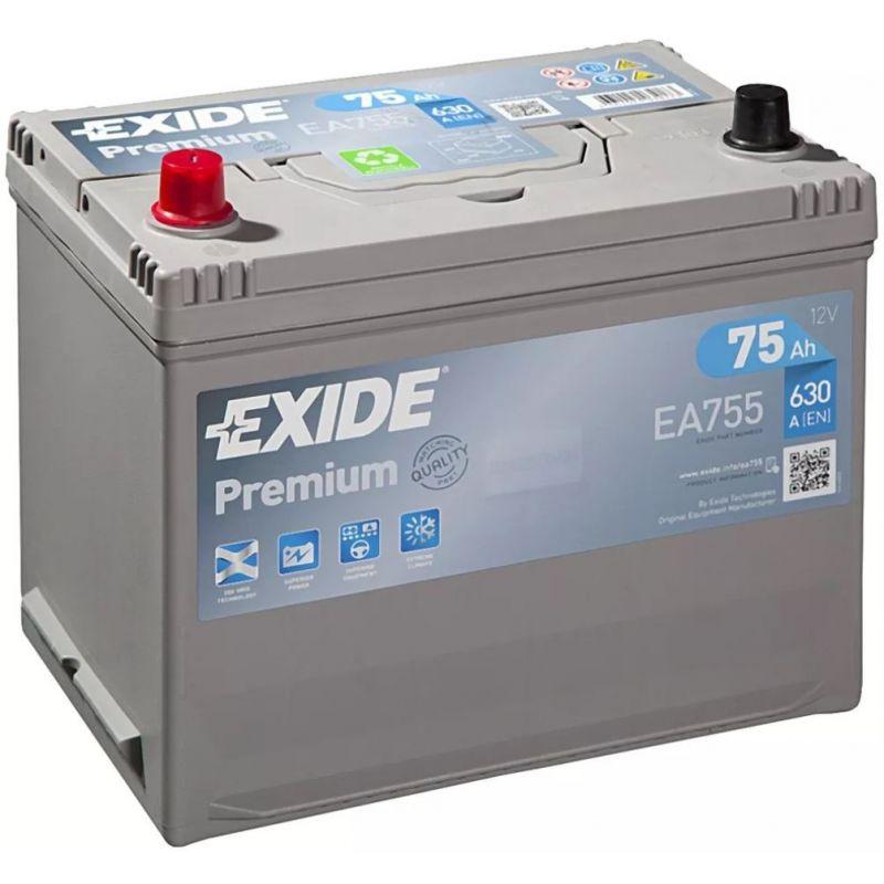 Batteria Exide Premium EA755