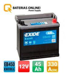 Batteria Exide Excell EB450
