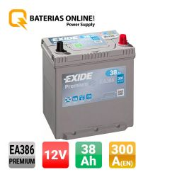 Batteria Exide Premium EA386