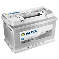 Batteria Varta 74Ah E38