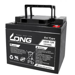Batteria al GEL LONG 12V 50Ah