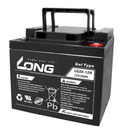 Batteria al GEL LUNGO 12V 50Ah