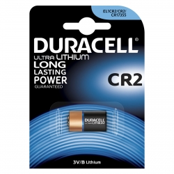 Batteria al Litio Duracell CR2