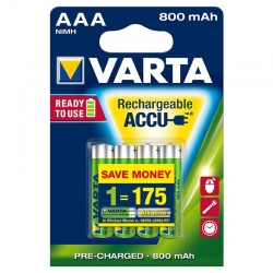 Batterie ricaricabili Varta...