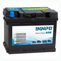 Batteria INNPO AGM 60Ah 680A