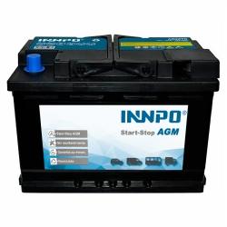 Batteria INNPO AGM 70Ah 760A