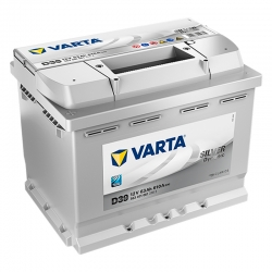 Batería Varta D39 63Ah