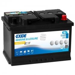 Batteria Exide ES650 GEL 56Ah