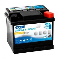 Batería Exide ES450 GEL 40Ah
