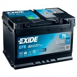 Batteria Exide EL700 70Ah
