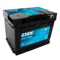 Batteria Exide EL600 60Ah
