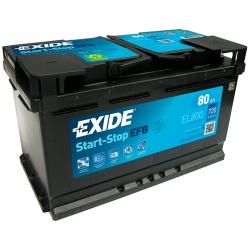 Batteria Exide EL800 80Ah
