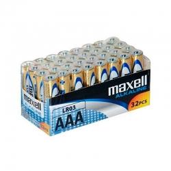 Pilas Maxell Alcalina AAA...