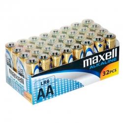 Pilas Maxell Alcalina AA...