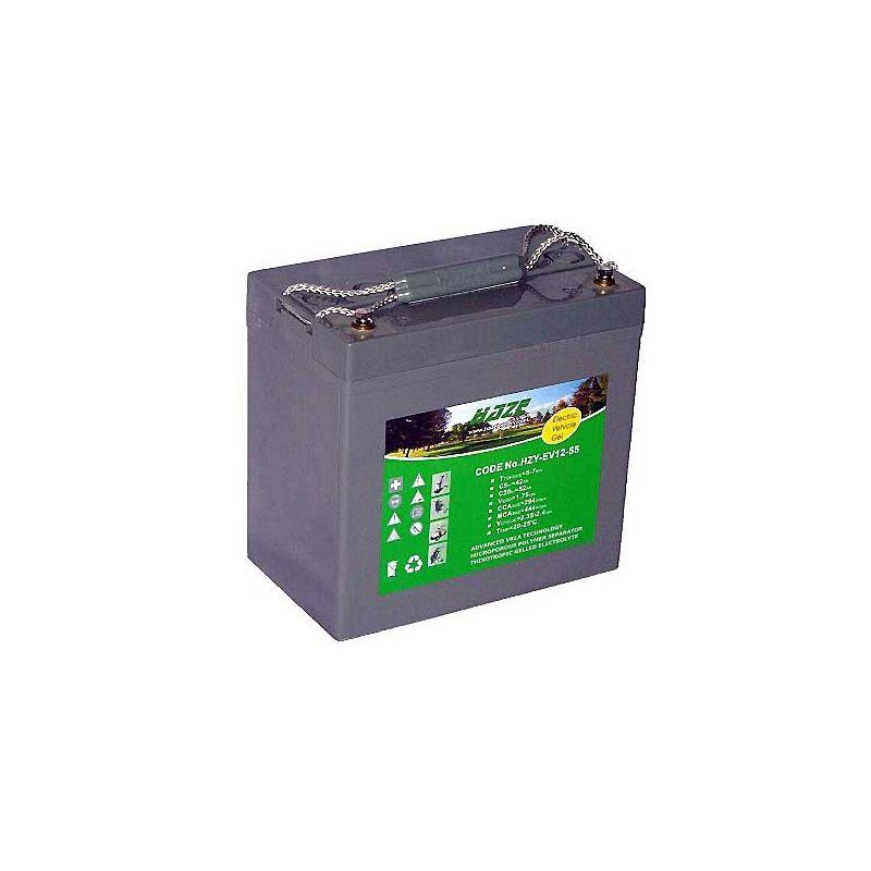 Batería GEL HAZE 12V 55Ah