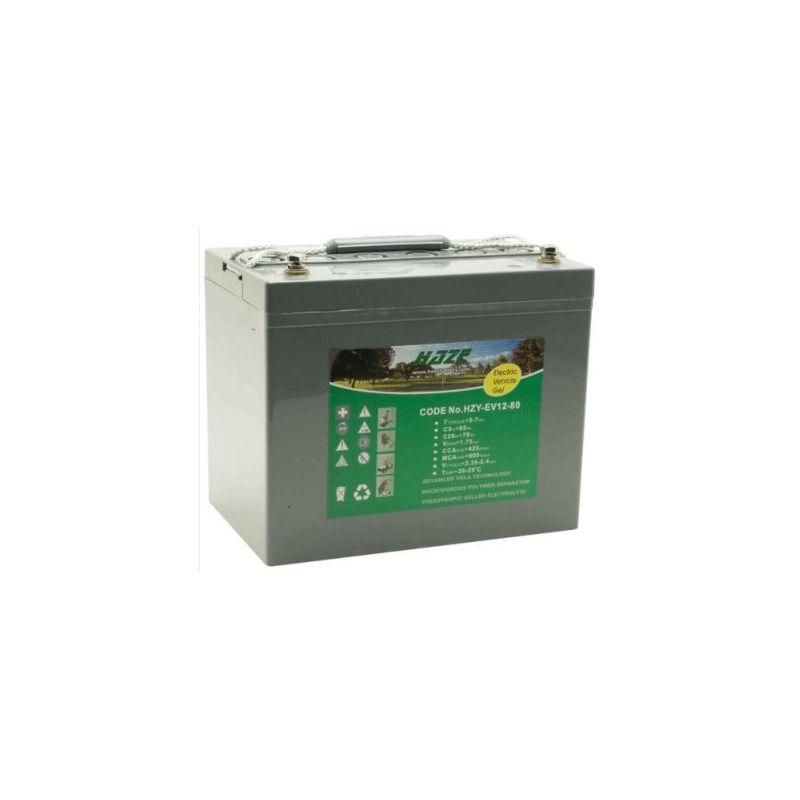 Batteria GEL HAZE 12V 80Ah