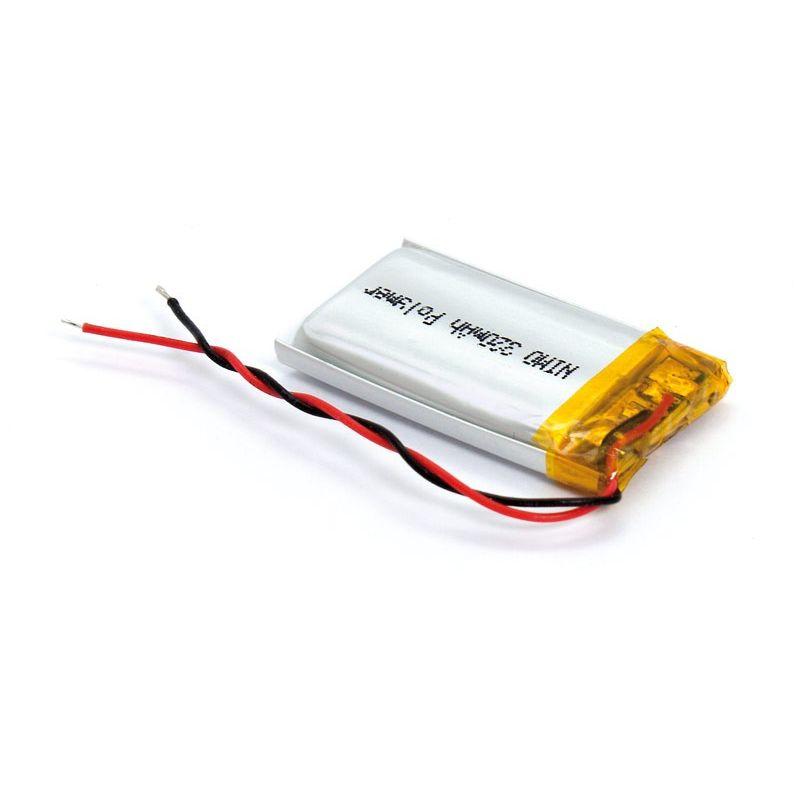 Batería recargable Li-polimero 320mAh