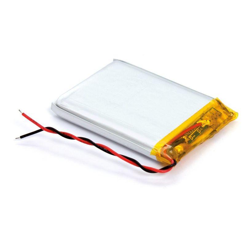 akku li polymer 180mah wiederaufladbare lithium batterien. Black Bedroom Furniture Sets. Home Design Ideas