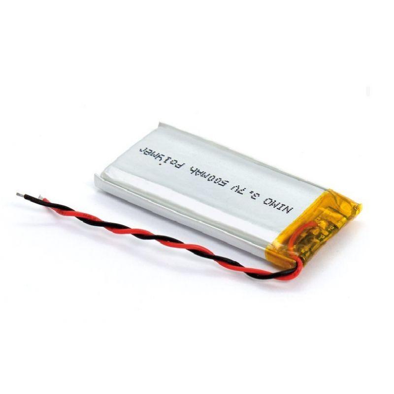 Batteria ricaricabile ai polimeri di Litio 500mAh