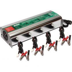 Estación de carga para 4 baterías plomo