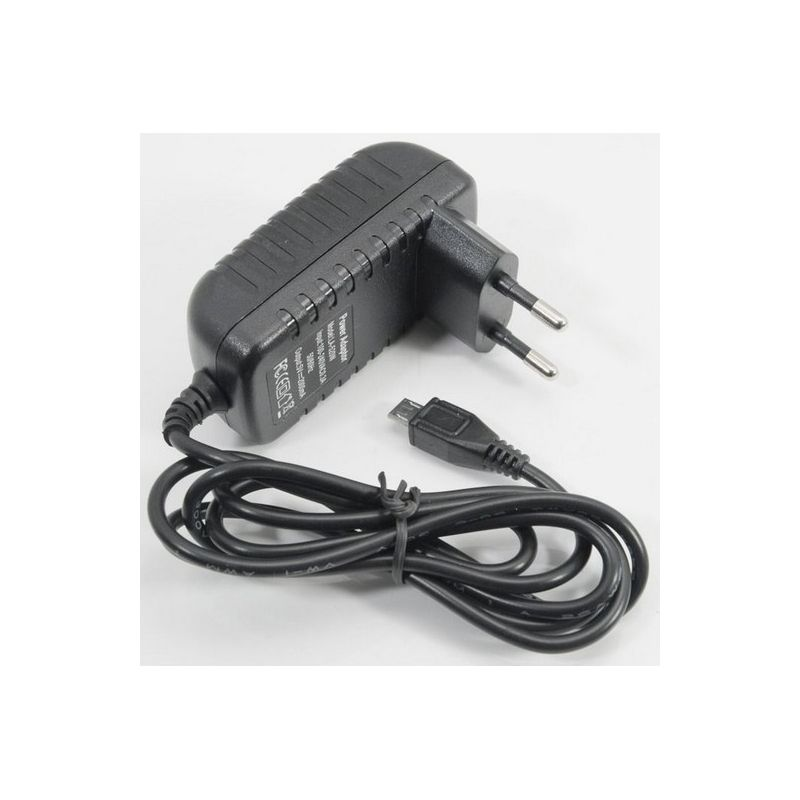 Caricabatterie per Tablet 5V 2A connettore microusb