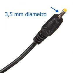 Cargador Tablet 12V 2A conector 3.5mm
