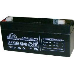 Batería plomo 6V 3.2A