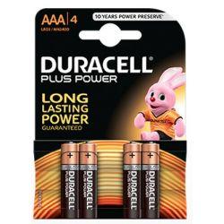 Batterie Duracell Plus Power LR03 AAA