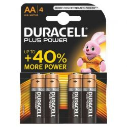 Pilas Duracell Plus Power LR06 AA