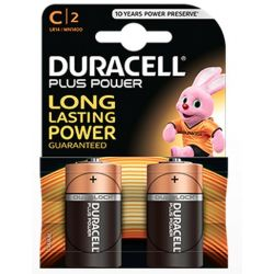 Pilas Duracell Plus Power LR14