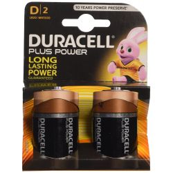 Pilas Duracell Plus Power LR20