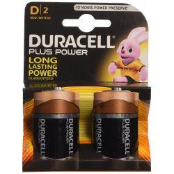 Pilas Duracell Plus Power LR20