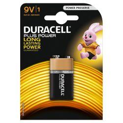 Pilas Duracell Plus Power 9V