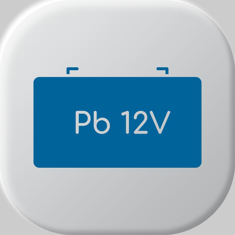 12V Batterie al piombo